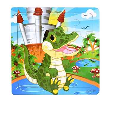 Legpuzzels Houten puzzels Bouw blokken DHZ-speelgoed Krokodil