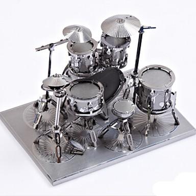 Metalen puzzels Drumstel 3D DHZ Legering Unisex Geschenk