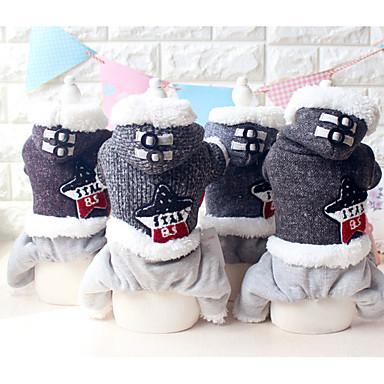 Hund Overall Hundekleidung Lässig/Alltäglich warm halten Sterne