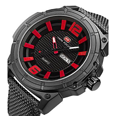 Bărbați Unic Creative ceas Ceas de Mână Ceas Militar  Ceas La Modă Ceas Sport Ceas Casual Quartz Calendar Nailon Bandă Charm Lux Creative