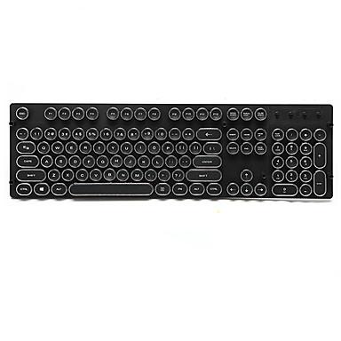 الرجعية البخار فاسق عبس كيكاب 108 مفاتيح تعيين لوحة المفاتيح الميكانيكية