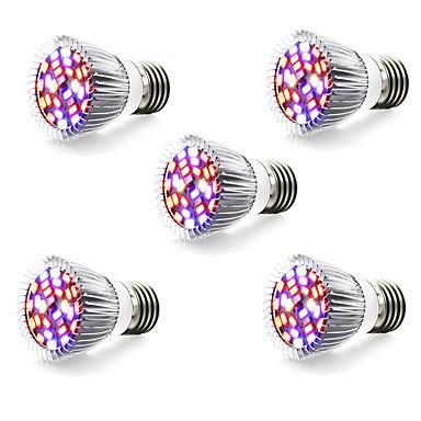 5W 800 lm E14 GU10 E27 Wachsende Glühbirnen 28 Leds SMD 5730 Warmes Weiß Weiß Rot Blau Wechselstrom 85-265V