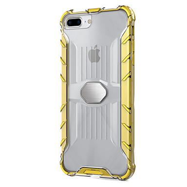 Hülle Für Apple Stoßresistent Durchscheinend Rückseitenabdeckung Volltonfarbe Rüstung Hart PC für iPhone 7 plus iPhone 7 iPhone 6s Plus