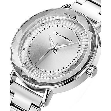 Pentru femei Quartz Ceas de Mână cald Vânzare Oțel inoxidabil Bandă Charm Lux Creative Casual Unic Watch Creative Elegant Modă Cool