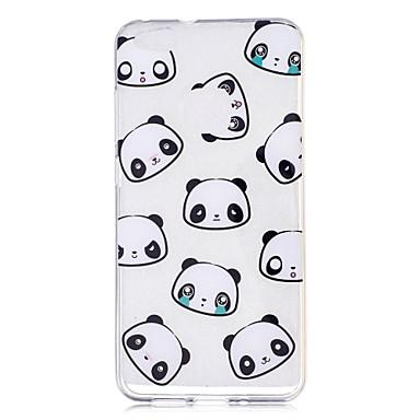 Case voor huawei p10 p10 lite case hoesje panda patroon geverfd hoge penetratie tpu materiaal imd proces zachte hoes telefoon hoesje voor