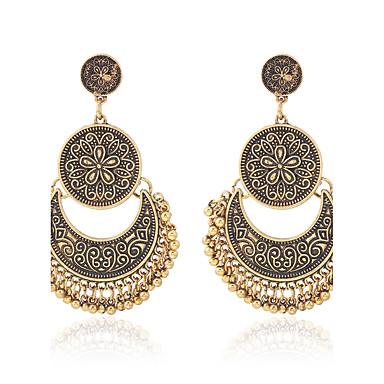Dames Druppel oorbellen Ring oorbellen Modieus Vintage PERSGepersonaliseerd Eenvoudige Stijl Klassiek Kostuum juwelen Legering Sieraden