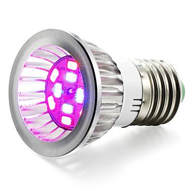1szt 4W 95-115lm Rosnąca żarówka 10 Koraliki LED SMD 5730 Niebieski Czerwony 85-265V