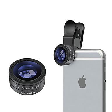 Mobiele telefoonlens Fish-eye lens Macrolens Aluminium 10X en groter 26 0.015 175