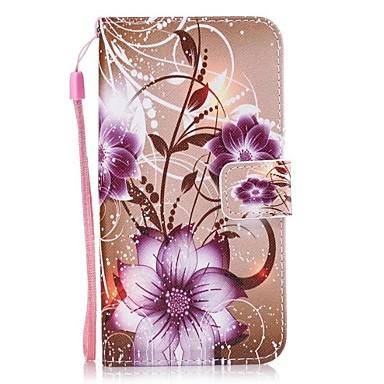 Maska Pentru Huawei P9 Lite Huawei Titluar Card Portofel Cu Stand Întoarce Carcasă Telefon Floare Greu PU piele pentru P10 Lite P10