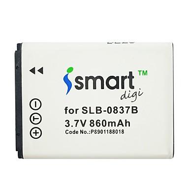 Ismartdigi 0837b 3.7v baterie de 860 mAh pentru Samsung samsung slb-0837b l201 nv10 l83t nv20 nv15 nv8