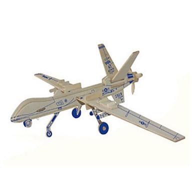 قطع تركيب3D تركيب الخشب نموذج ألعاب دبابة طيارة المقاتل 3D خشب الخشب الطبيعي للجنسين قطع