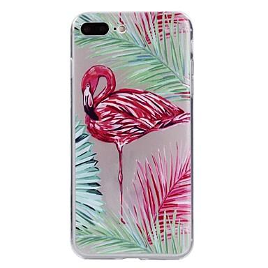 Caz pentru iphone 7 plus copertă transparent copertă spate copertă caz flamingo soft tpu pentru 6s plus 6 plus 6s 6 se 5s 5