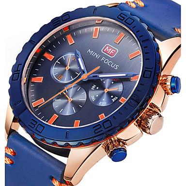 Bărbați Unic Creative ceas Ceas de Mână Ceas Militar  Ceas La Modă Ceas Sport Ceas Casual Quartz Ceas Casual Piele Autentică Bandă Charm