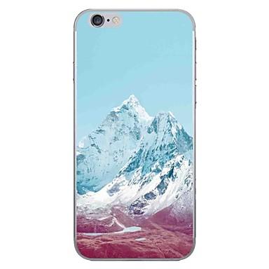 hoesje Voor Apple iPhone 7 Plus / iPhone 7 Patroon Achterkant Landschap Zacht TPU voor iPhone 7 Plus / iPhone 7 / iPhone 6s Plus