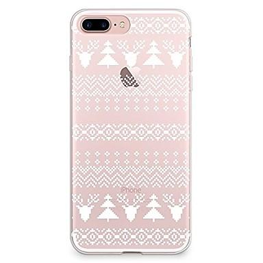 Caz pentru iphone 7 6 Crăciun tpu soft ultra-subțire spate cover case acoperă iphone 7 plus 6 6s plus se 5s 5 5c 4s 4
