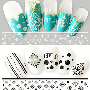 2 Nail Art autocolant Model 3-D Consumabile DIY machiaj cosmetice Nail Art Design