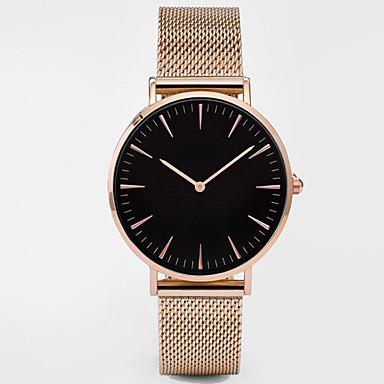 2d387faf5469d رخيصةأون ساعات النساء-نسائي ساعة رياضية ساعة فستان ساعة المعصم كوارتز أسود    فضة