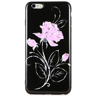 Maska Pentru Apple iPhone 7 Plus iPhone 7 Model Capac Spate Floare Moale TPU pentru iPhone 7 Plus iPhone 7 iPhone 6s Plus iPhone 6s