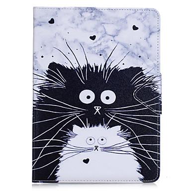 (تشاينا (مينلاند)) 10 قطعة / الوحدة ل باد برو 10.5 باد (2017) حامل البطاقة المحفظة مع حامل الوجه كامل الجسم حالة القط الصلب بو الجلود لباد