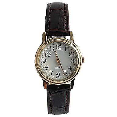 Pentru femei Ceas de Mână Ceas La Modă Japoneză Quartz / PU Bandă Casual Elegant Maro
