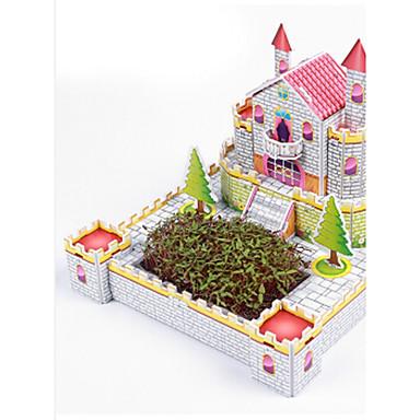 3D - Puzzle Holzpuzzle Berühmte Gebäude Haus Architektur 3D Heimwerken Styropor Papier Kinder Geschenk