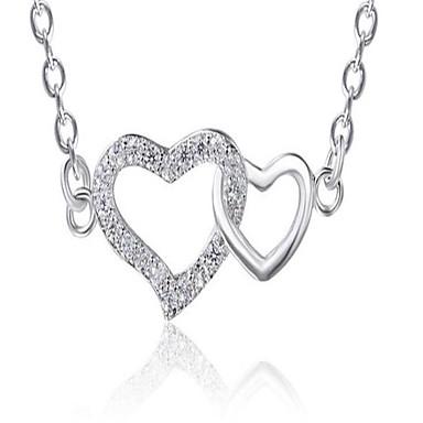 للمرأة قلائد الحلي مجوهرات Geometric Shape سبيكة موضة شخصية مجوهرات من أجل زفاف حزب عيد ميلاد يوميا حفلة ليلية