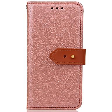 Maska Pentru LG K8 / LG Portofel / Titluar Card / Cu Stand Carcasă Telefon Mată Greu PU piele pentru LG G6