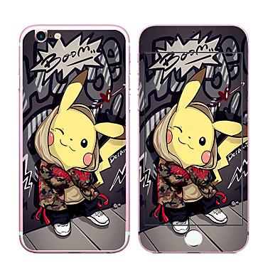 Недорогие Защитные плёнки для экрана iPhone-Защитная плёнка для экрана для Apple iPhone 7 Plus Закаленное стекло Защитная пленка для экрана и задней панели Уровень защиты 9H 2.5D