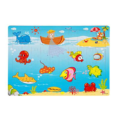 Puzzle Puzzle Lemn Jucării Educaționale Jucarii Pești Navă Soare Other Fruct Lemn Unisex Bucăți
