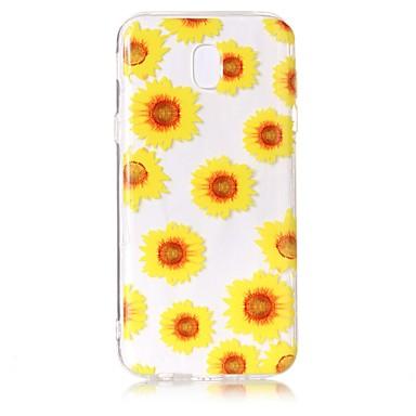 غطاء من أجل Samsung Galaxy J7 (2017) J3 (2017) شفاف نموذج غطاء خلفي زهور ناعم TPU إلى J7 Perx J7 (2017) J7 (2016) J5 (2017) J5 (2016) J3