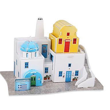 Puzzle 3D Puzzle Modelul de hârtie Clădire celebru Arhitectură 3D Lemn natural Romantic Unisex Cadou