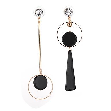 Pentru femei Cercei Picătură Cristal Ștras Personalizat Bling bling Elegant Modă Reșină Diamante Artificiale Aliaj Circle Shape Bijuterii