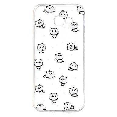Hülle Für Samsung Galaxy A5(2017) A3(2017) Transparent Muster Rückseitenabdeckung Panda Weich TPU für A7 (2017) A3 (2017) A5 (2017)
