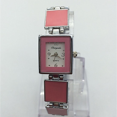 Pentru femei Ceas de Mână Ceas Brățară Chineză Quartz Aliaj Bandă Casual Argint