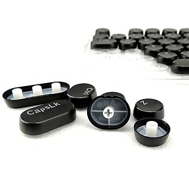 104 Schlüssel Dampf Punk Runde Vintage transparente Keycap Set für mechanische Tastatur