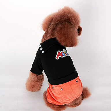 Câine Salopete Îmbrăcăminte Câini Casul/Zilnic Solid