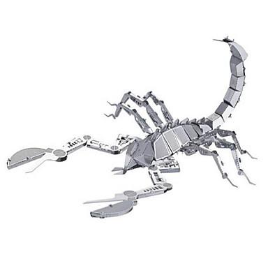 قطع تركيب3D تركيب تركيب معدني حيوان 3D الفولاذ المقاوم للصدأ سبيكة معدنية معدن 6 سنوات فما فوق