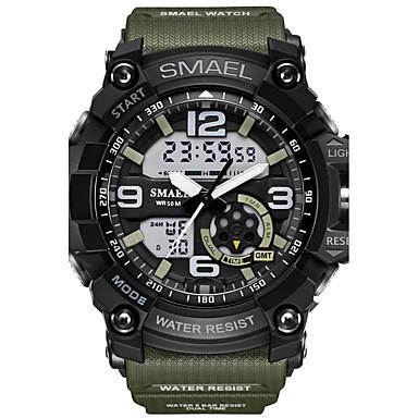 Heren Sporthorloge Militair horloge Modieus horloge Digitaal horloge Japans Kwarts Kalender Chronograaf Waterbestendig Stopwatch s Nachts
