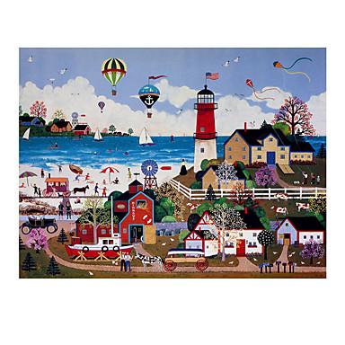Spielzeug-Autos Holzpuzzle Spielzeuge Auto Schiff Haus Pferd Holz Unisex Stücke