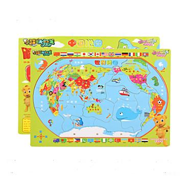 Puzzle Puzzle Lemn Jucării Educaționale Fruct Other Oval Lemn Anime Desen animat Unisex Cadou