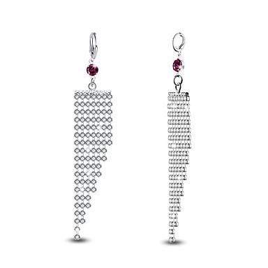 Damen Tropfen-Ohrringe Imitation Diamant individualisiert Hypoallergen Luxus-Schmuck Klassisch Modisch Diamantimitate Zirkon Aleación