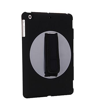 Hülle Für Apple mit Halterung Flipbare Hülle Origami Handyhülle für das ganze Handy Volltonfarbe Hart Kunst-Leder für iPad Mini 4 iPad
