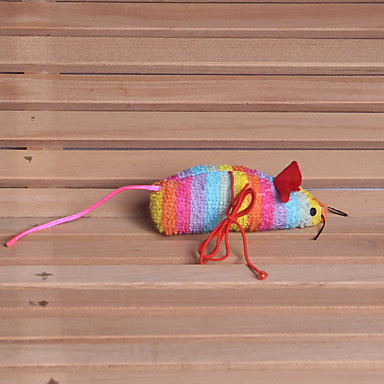 Pluche speelgoed Muis Stof Katoen Voor Kat Hond Kattenspeeltje