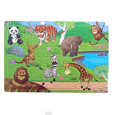 تركيب خشبي ألعاب الألغاز فيل عصفور الكرتون على شكل Other لهو كلاسيكي 6 سنوات فما فوق