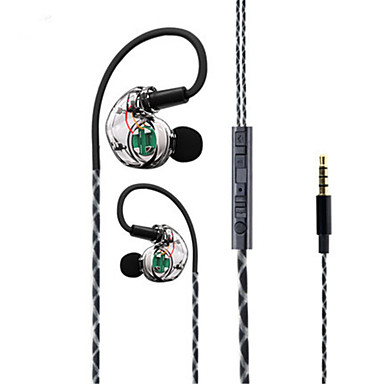 Doboly x18 Sport Kopfhörer Computer Telefon Ohrhörer Kopfhörer Bass Magic Sound Headset transparent Dual-Core 4 Lautsprecher Surround