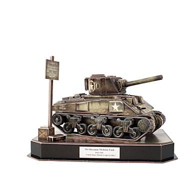 3D-puzzels Legpuzzel Speeltjes Tank 3D DHZ Papier Mannelijk Jongens Stuks
