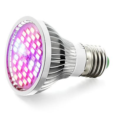 15W E27 LED-kasvivalo 40 SMD 5730 800-1200 lm Lämmin valkoinen Punainen Sininen UV V 1 kpl