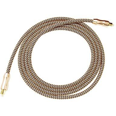 SC Cablu, SC to SC Cablu Bărbați-Bărbați Placată cu aur 2.0M (6.5Ft)