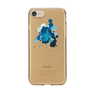 Pentru iPhone 7 iPhone 7 Plus Carcase Huse Transparent Model Carcasă Spate Maska Alte Moale TPU pentru Apple iPhone 7 Plus iPhone 7