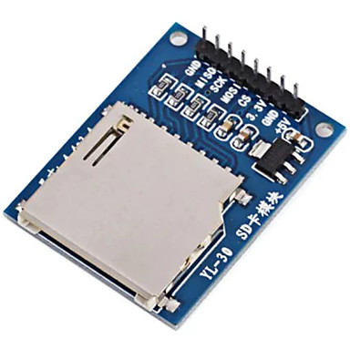 diy sd carte de lectură scris modul funcționează pentru placi oficiale arduino compatibile cu 3.3v 5v